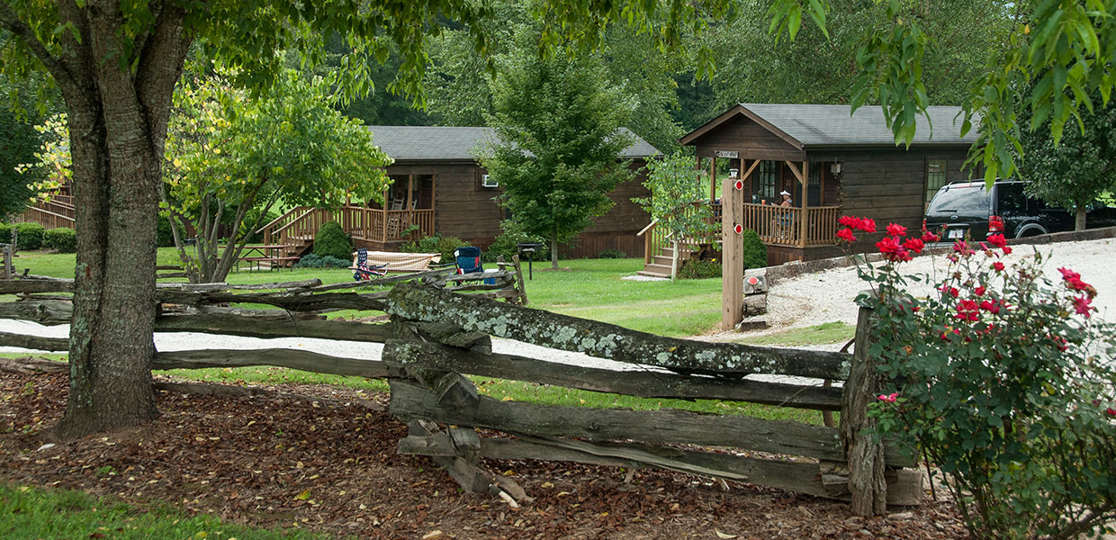Budget Friendly Cabin Rentals At Bryson City Nc Campground